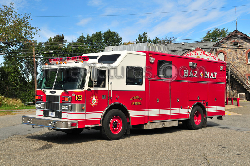 Picatinny Arsenal Haz-Mat 13 - 2002 Pierce Saber