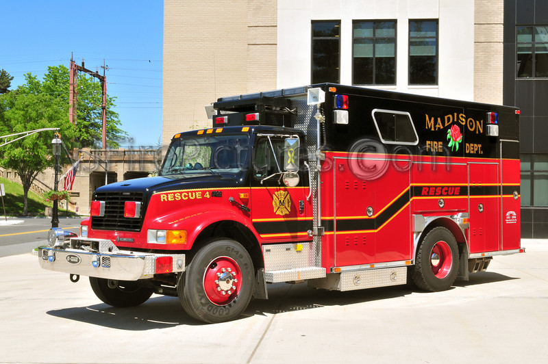 Madison Rescue 4 - 1995 International/E-ONE