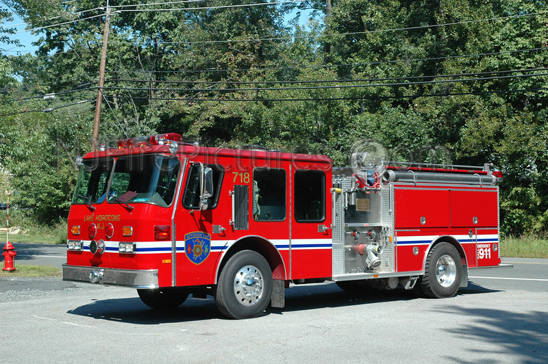 JEFFERSON TWP, NJ ENGINE 718