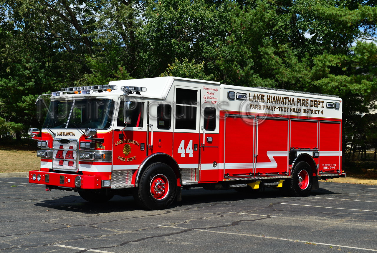 LAKE HIAWATHA, NJ RESCUE 44