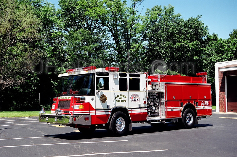 PINE BROOK - ENGINE 376 - 1999 PIERCE QUANTUM 2000/750/50