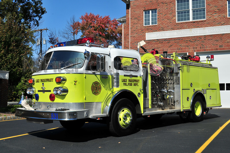 PARSIPPANY, NJ ENGINE 631 (LAKE PARSIPPANY)
