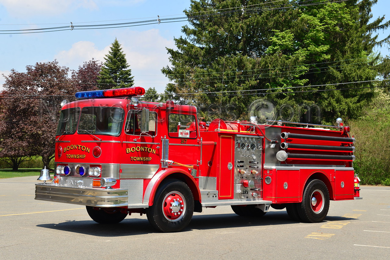 BOONTON TWP, NJ ENGINE 7