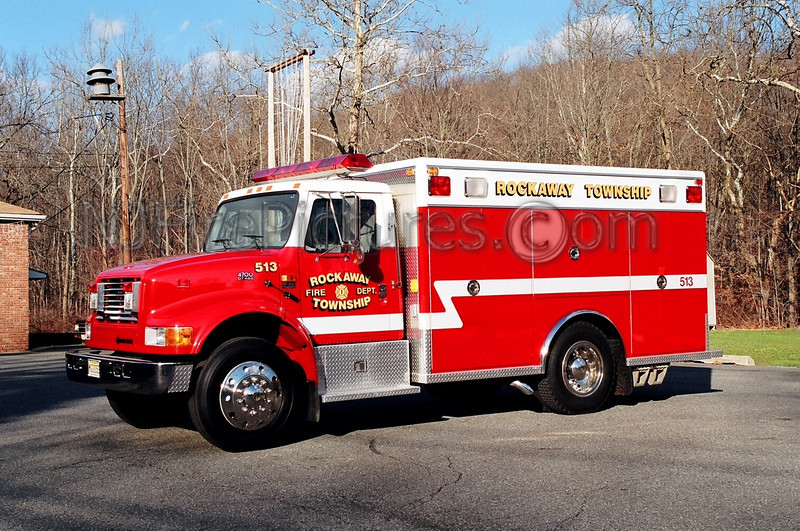 ROCKAWAY - AIR 513 - 1995 INTERNATIONAL 4900/EVI