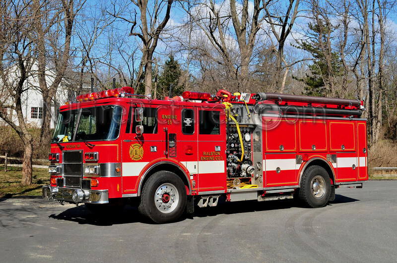 MENDHAM TWP, NJ ENGINE 11 RALSTON FIRE CO.