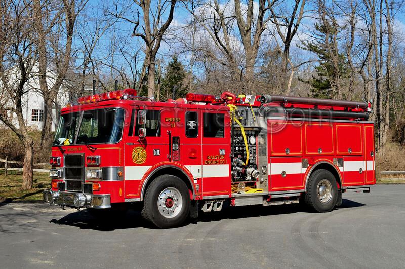 MENDHAM TWP, NJ ENGINE 11 RALSTON FIRE CO.