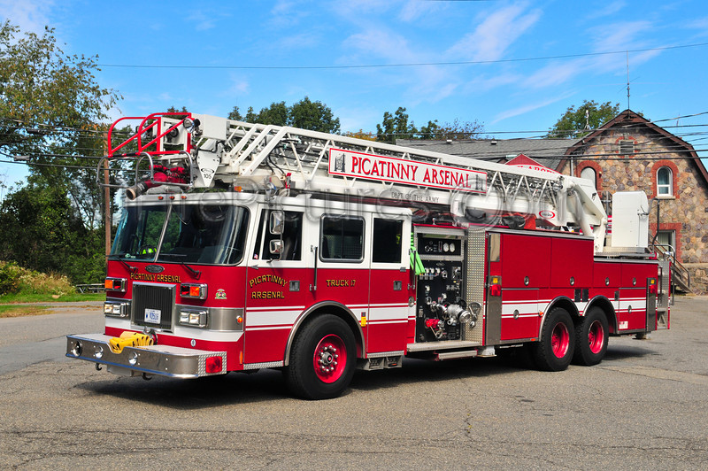 Picatinny Arsenal Truck 17 - 1995 Pierce Arrow 1500/500/105'