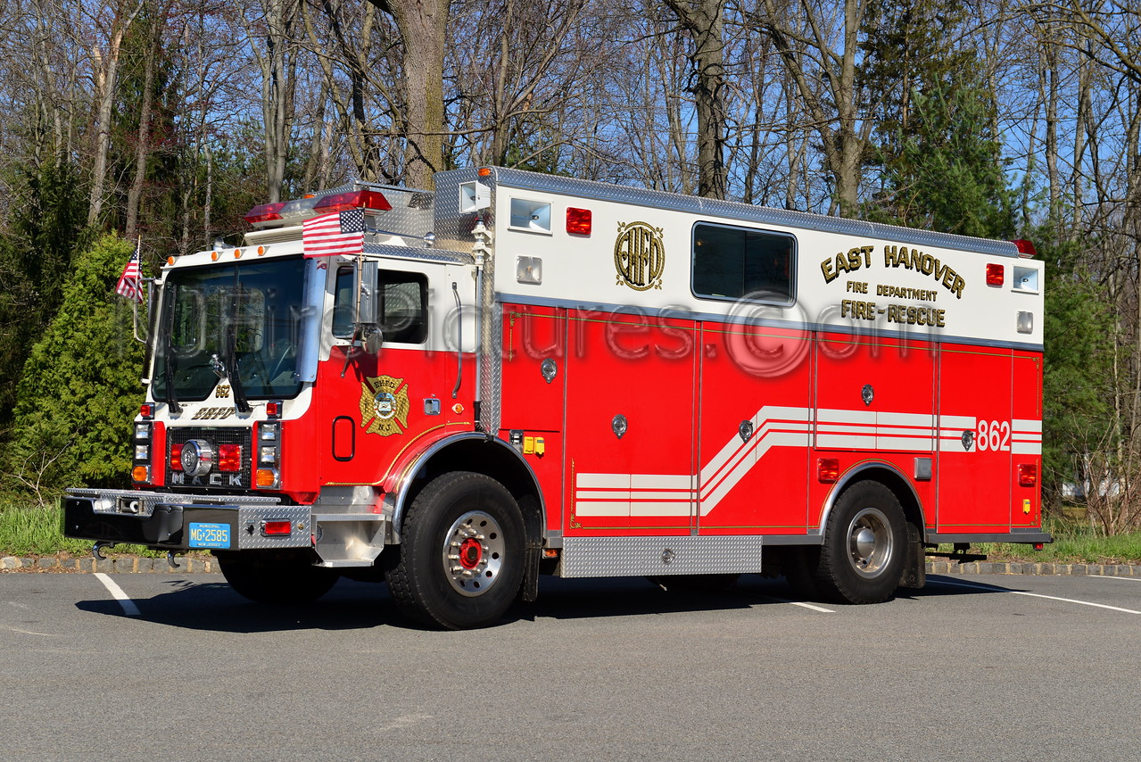 EAST HANOVER, NJ RESCUE 862