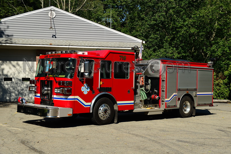 JEFFERSON TWP., NJ LAKE HOPATCONG F.C. ENGINE 718