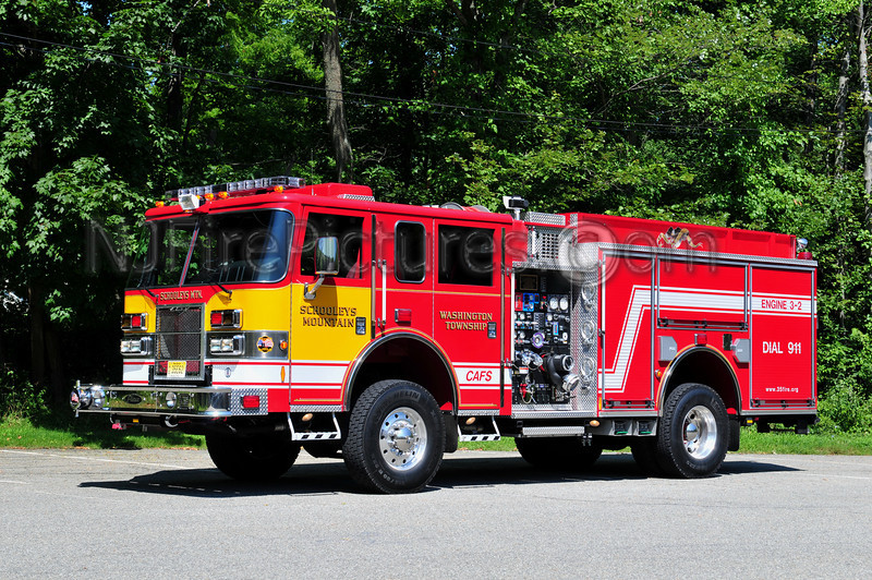 WASHINGTON TWP, NJ (SCHOOLEYS MTN) ENGINE 3-2