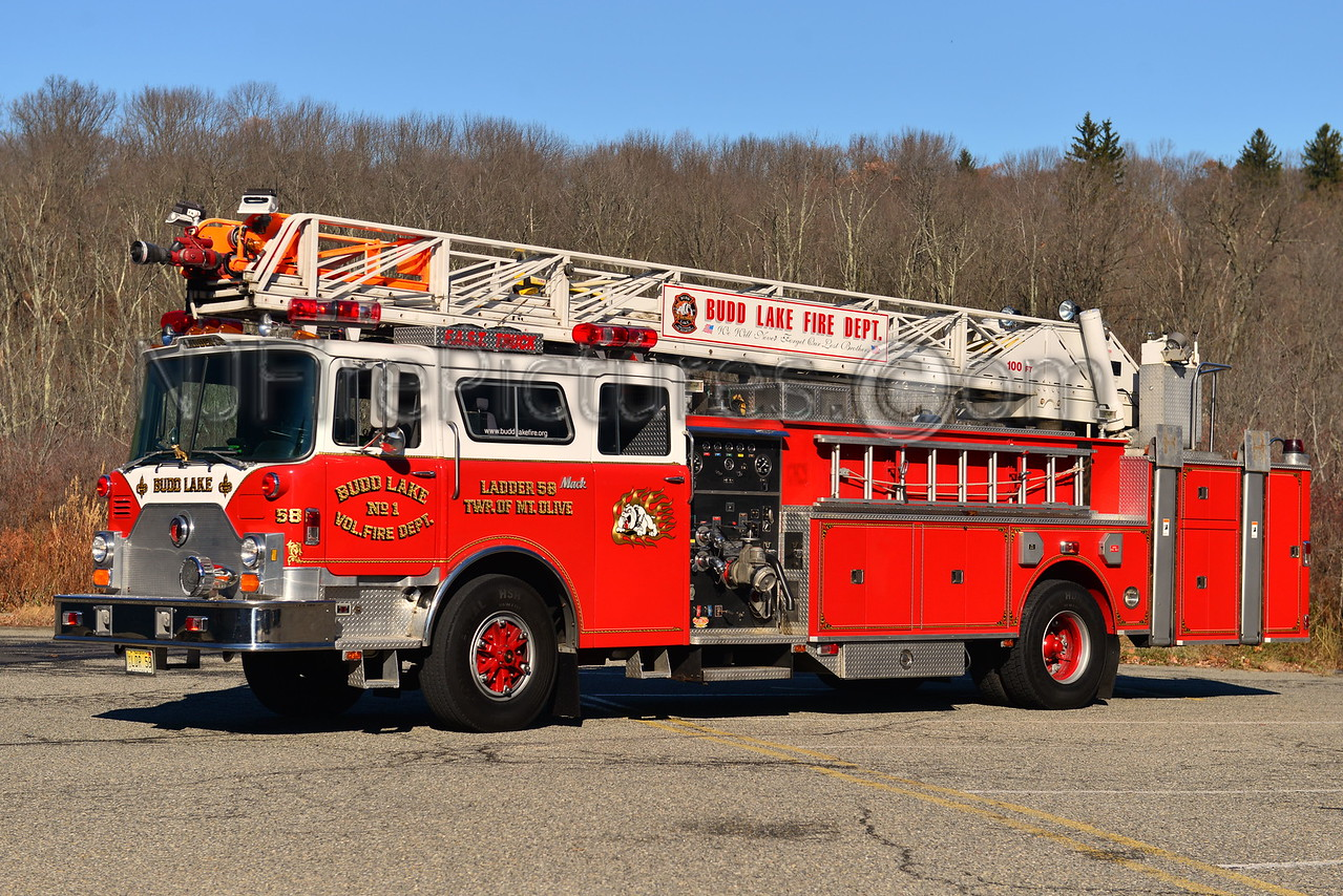 BUDD LAKE, NJ LADDER 58