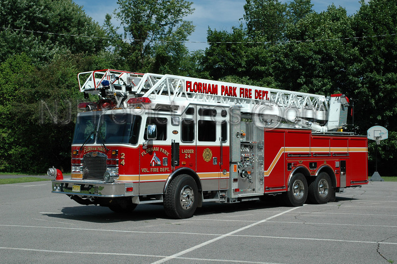 FLORHAM PARK, NJ LADDER 24