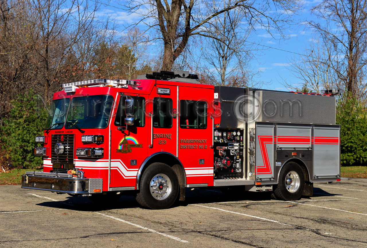 PARSIPPANY, NJ RAINBOW LAKES DIST.2 ENGINE 23