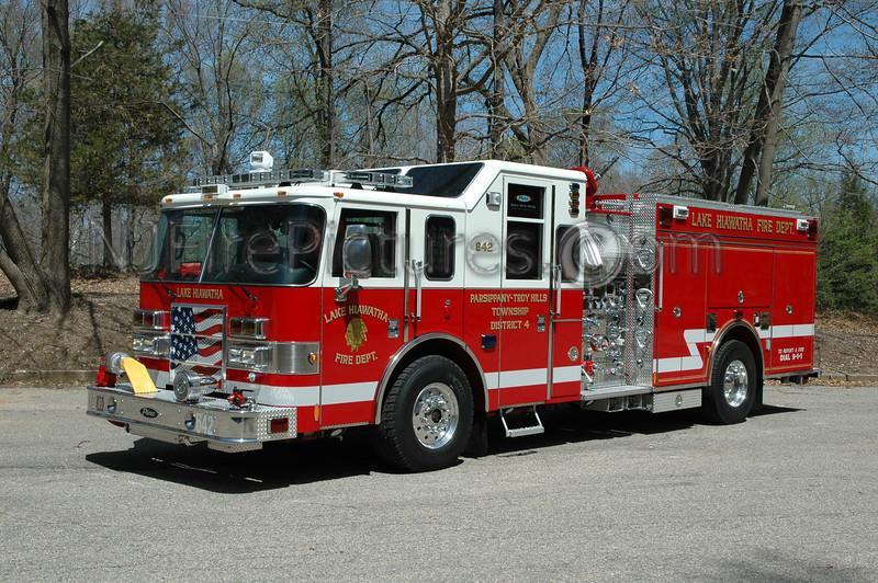 PARSIPPANY, NJ ENGINE 642 (LAKE HIAWATHA)