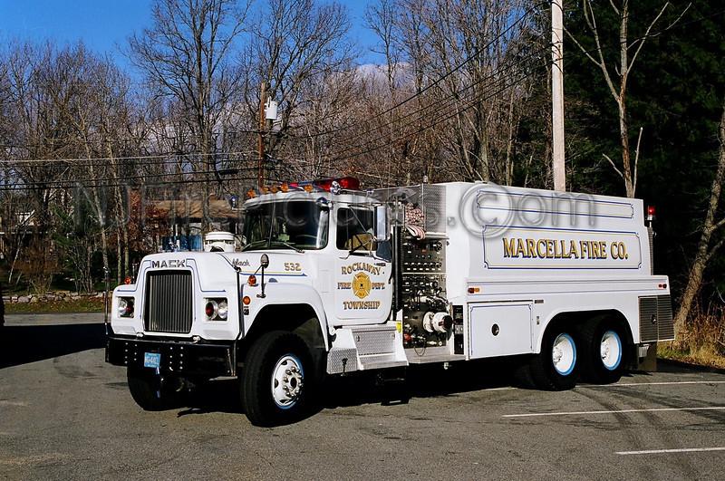 ROCKAWAY - MARCELLA - TANKER 532 - 1982 MACK R 1000/3450/100/60