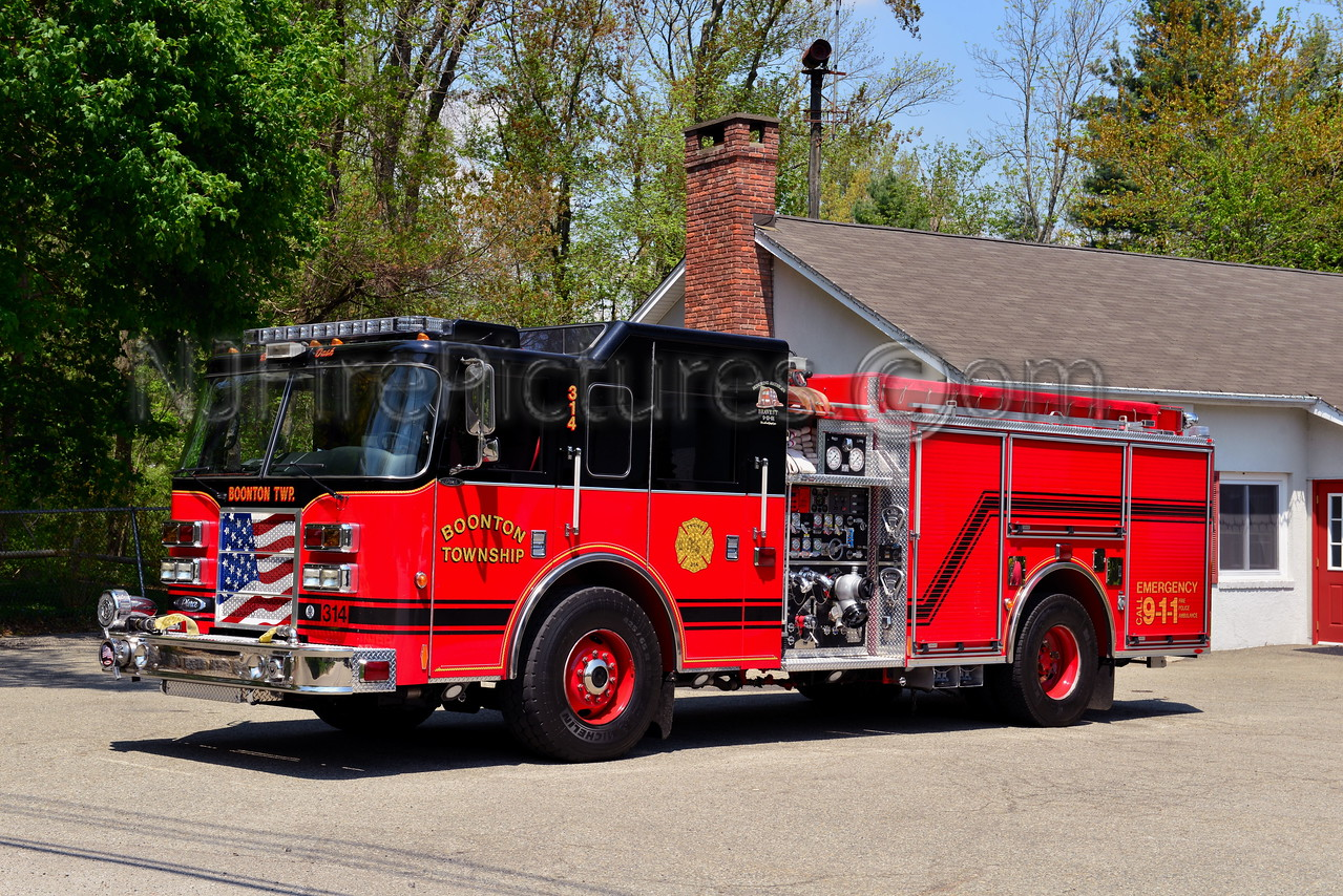 BOONTON TWP, NJ ENGINE 4
