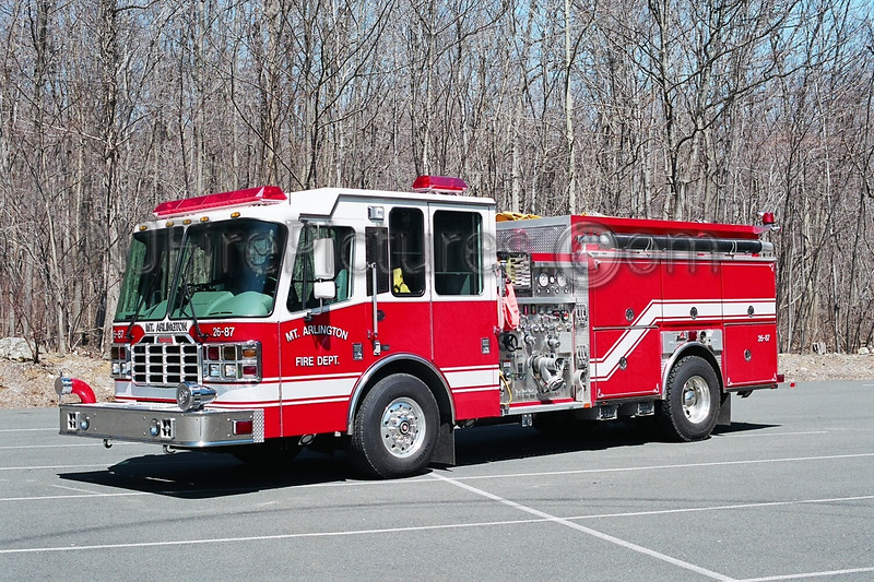 MOUNT ARLINGTON - ENGINE 26-87 - 2003 FERRARA INFERNO 2000/1000/35