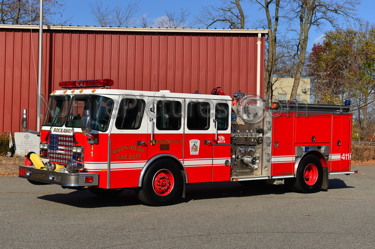 ROCKAWAY BOROUGH, NJ ENGINE 411