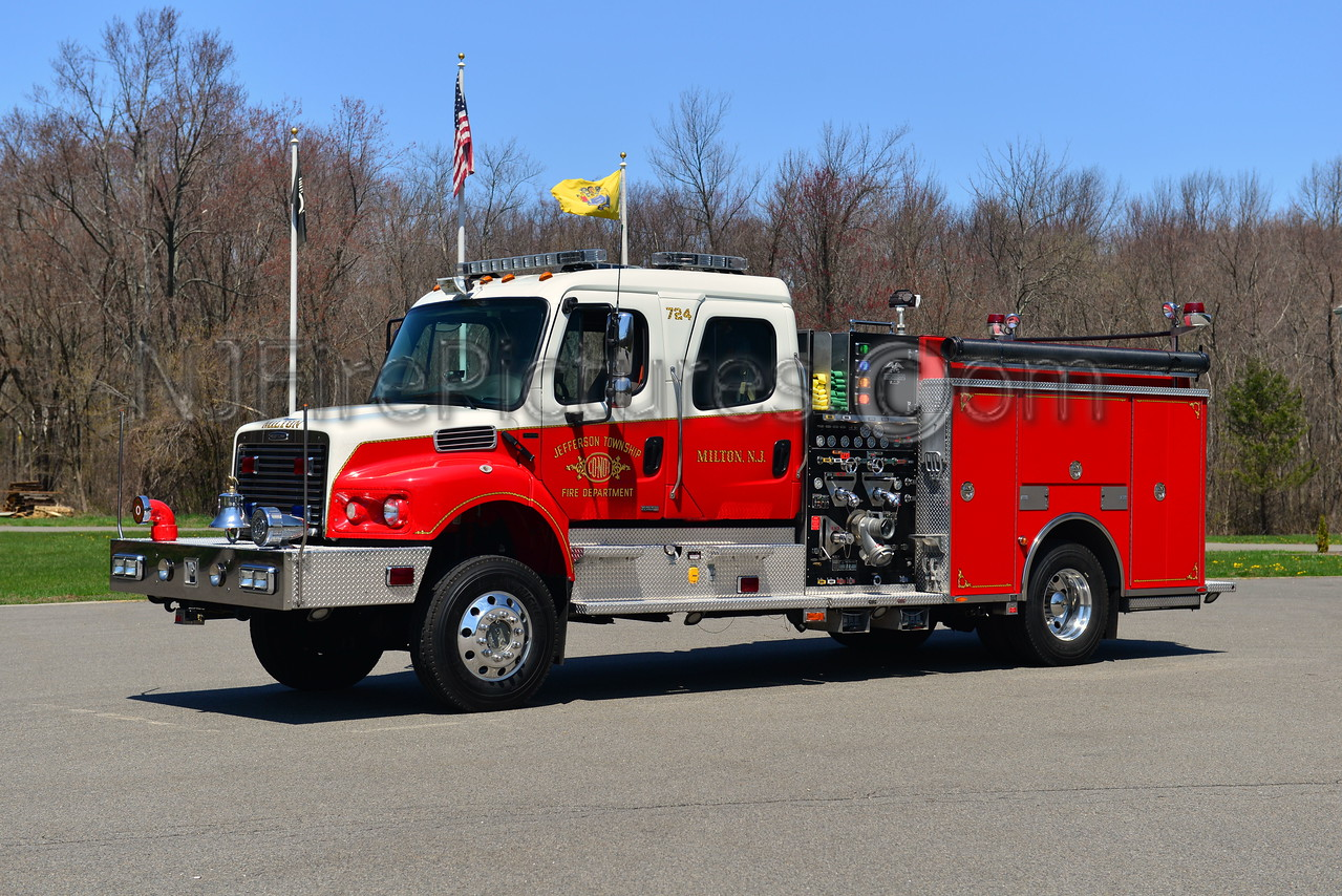JEFFERSON TWP, NJ ENGINE 724
