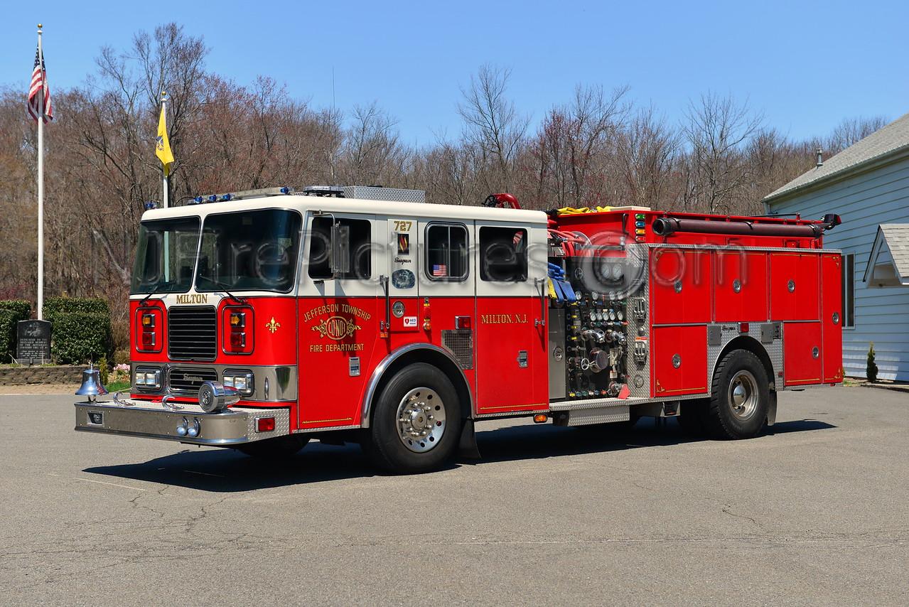 JEFFERSON TWP, NJ ENGINE 727