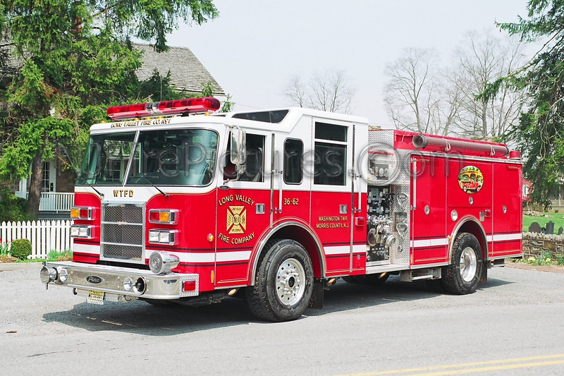 LONG VALLEY - ENGINE 36-62 - 1999 PIERCE DASH 1250/750/35