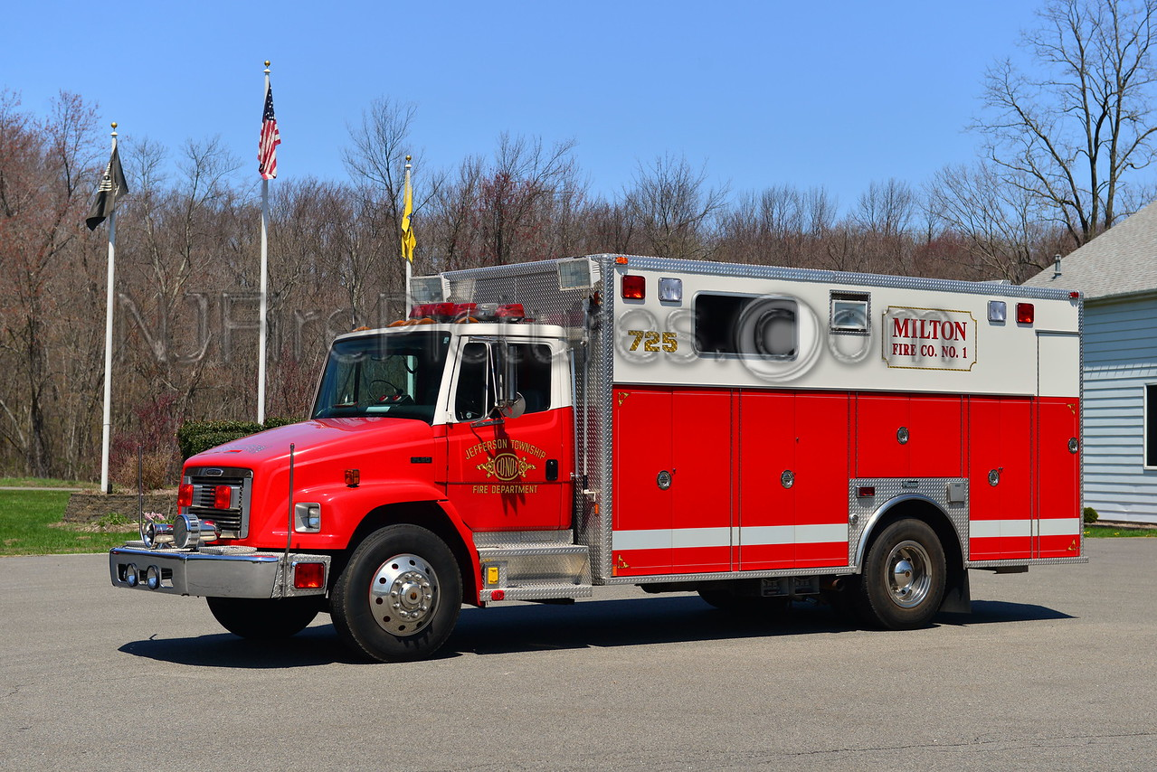 JEFFERSON TWP, NJ RESCUE 725
