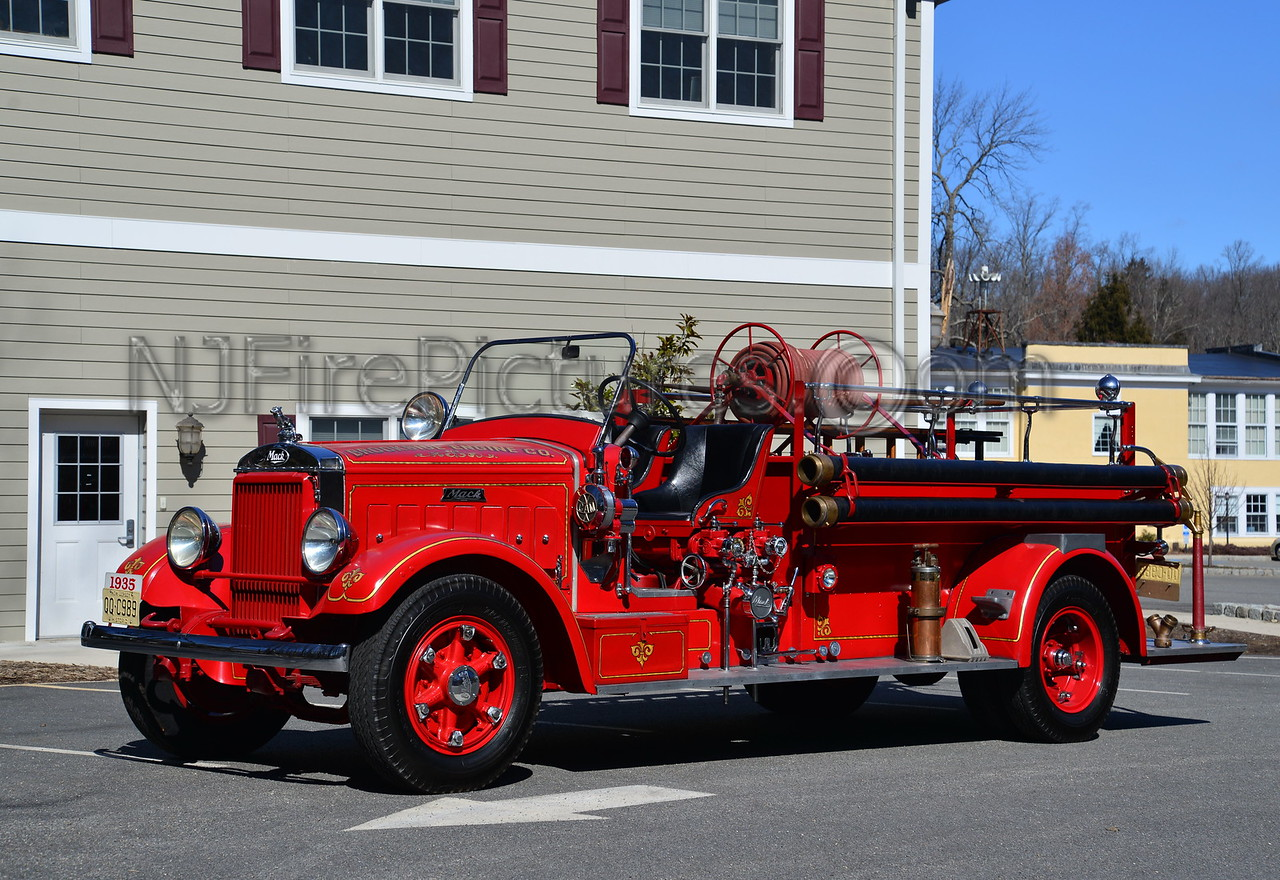 MENDHAM TWP, NJ BROOKSIDE ENGINE CO.