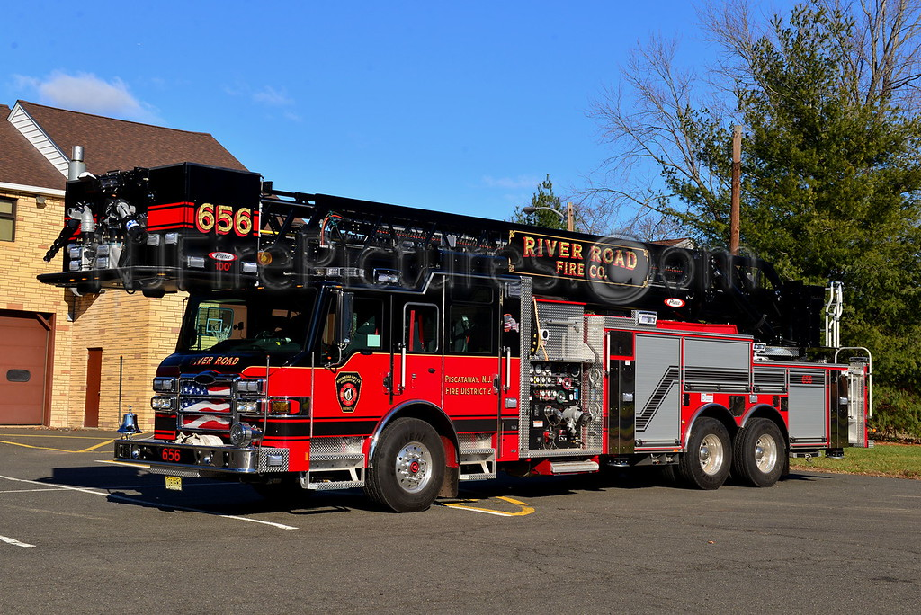 PISCATAWAY NJ RIVER ROAD FIRE CO. TOWER 656