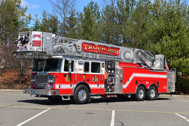 NORTH BRUNSWICK, NJ TRUCK 209
