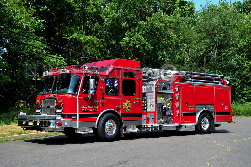 PISCATAWAY TWP (NEW MARKET FIRE CO.) ENGINE 662