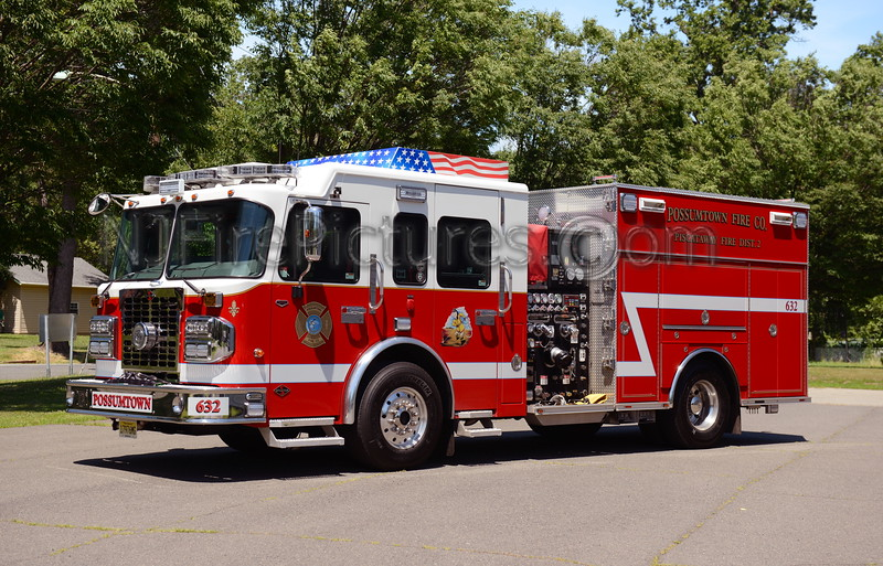 PISCATAWAY, NJ ENGINE 632 POSSUMTOWN F.C.