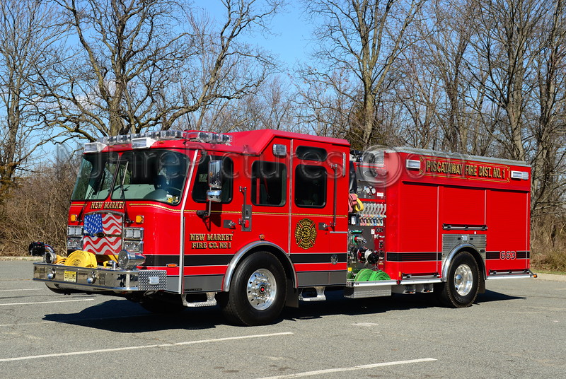 PISCATAWAY, NJ (NEW MARKET FIRE CO.) ENGINE 663