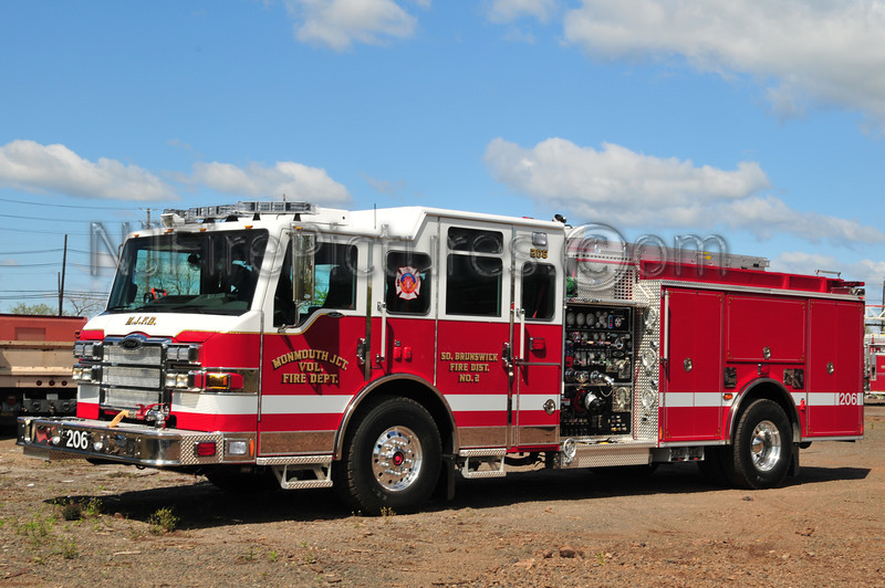 SOUTH BRUNSWICK, NJ (MONMOUTH JUNCTION) ENGINE 206