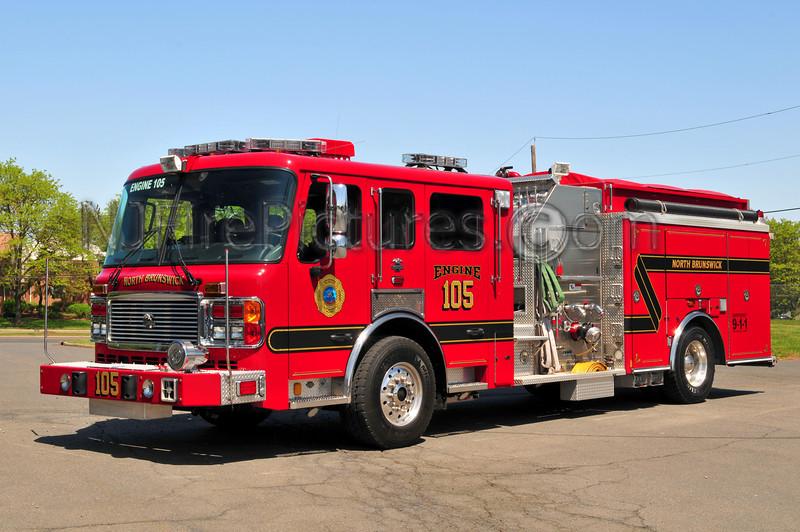 NORTH BRUNSWICK, NJ ENGINE 105