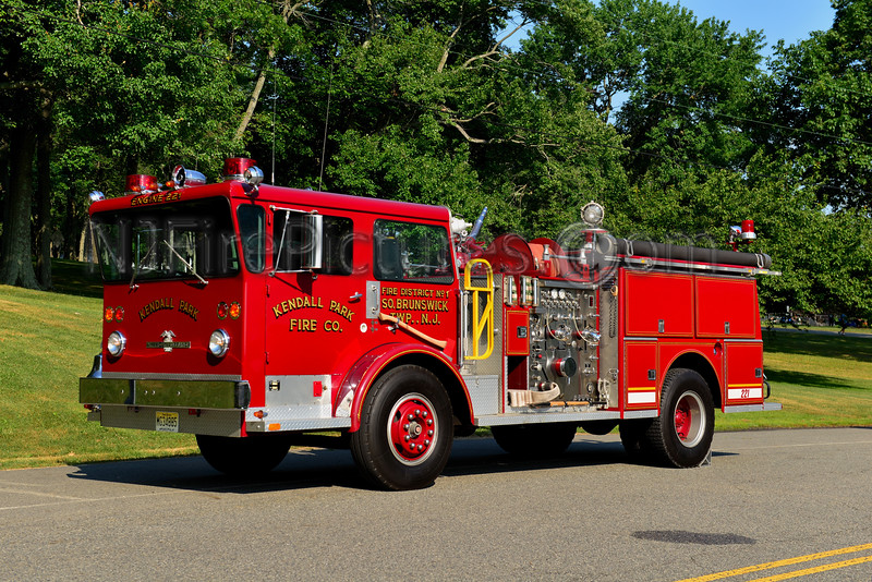 SOUHT BRUNSWICK, NJ ENGINE 221 KENDALL PARK FIRE CO.