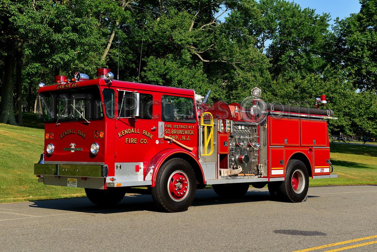 SOUHT BRUNSWICK, NJ ENGINE 221 KENDALL PARK FIRE CO.