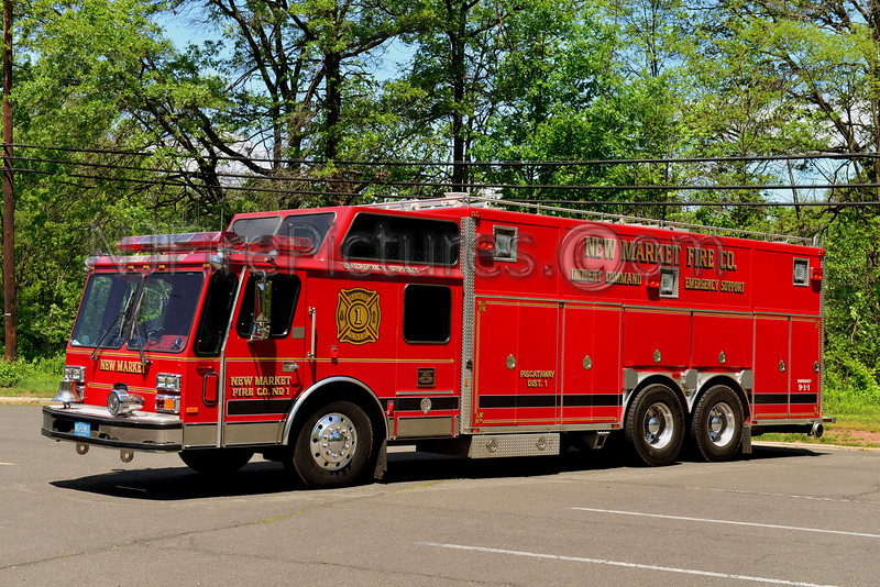 PISCATAWAY, NJ NEW MARKET FIRE CO. RESCUE 1