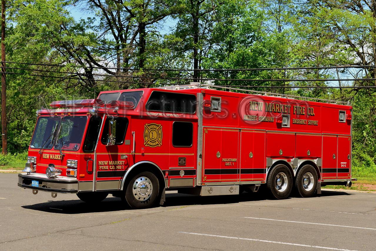 PISCATAWAY, NJ NEW MARKET FIRE CO. RESCUE 1