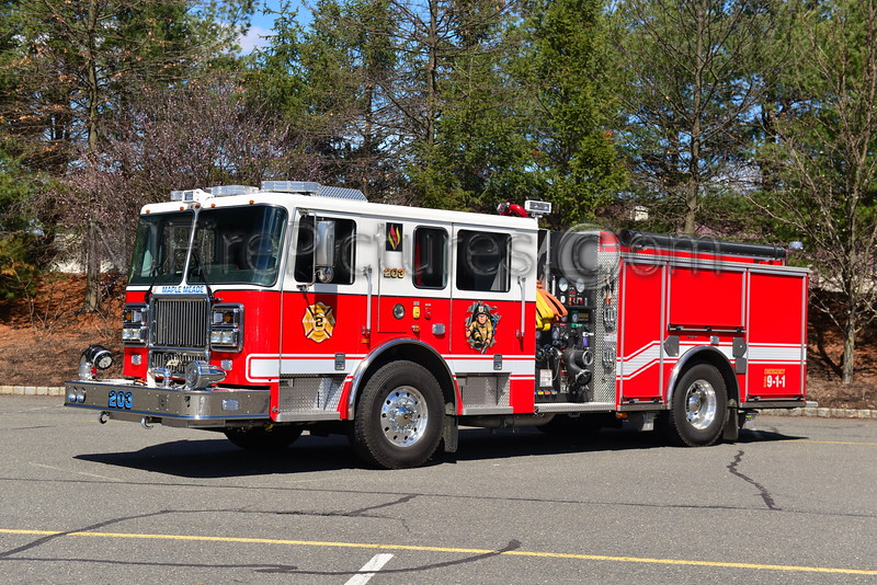 NORTH BRUNSWICK, NJ ENGINE 203