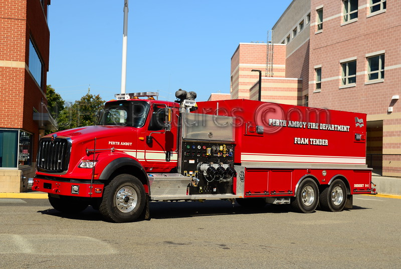 PERTH AMBOY, NJ FOAM TENDER