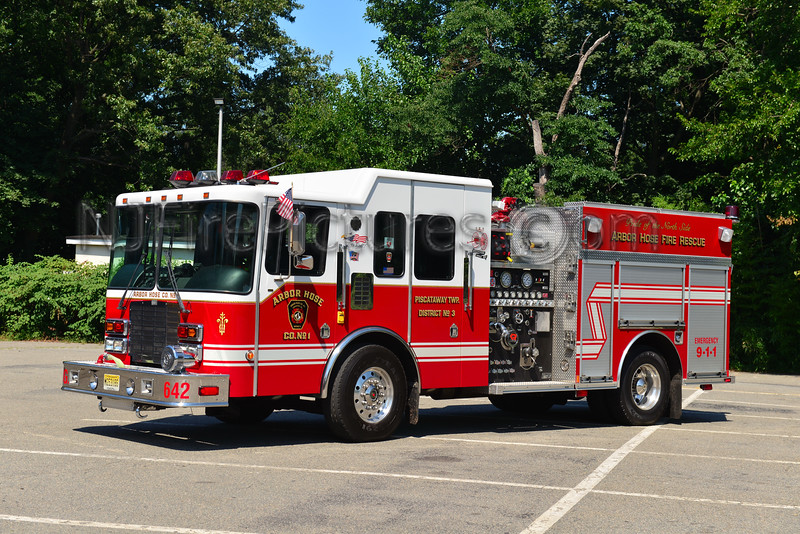 PISCATAWAY, NJ ENGINE 642 ARBOR HOSE CO. 1
