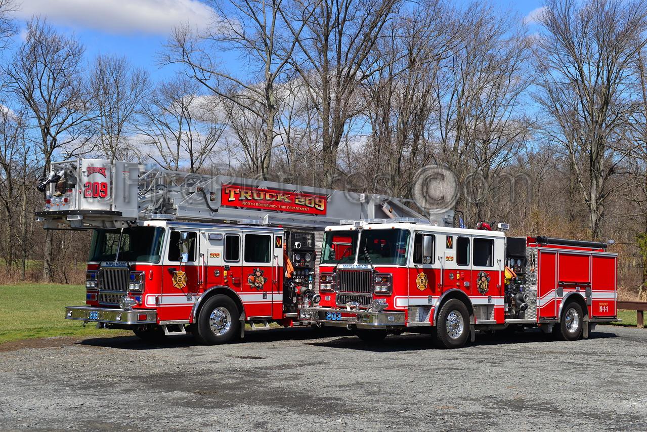 NORTH BRUNSWICK, NJ ENGINE 203 & TRUCK 209