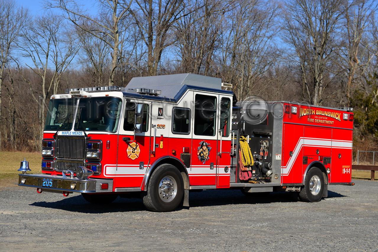 NORTH BRUNSWICK, NJ ENGINE 205