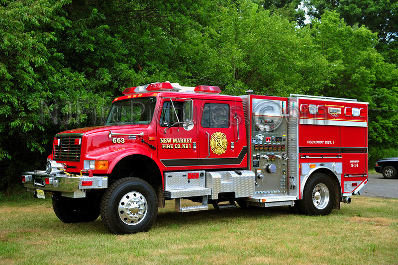 PISCATAWAY TWP (NEW MARKET FIRE CO) ENGINE 663