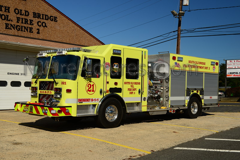SOUTH OLD BRIDGE, NJ ENGINE 321