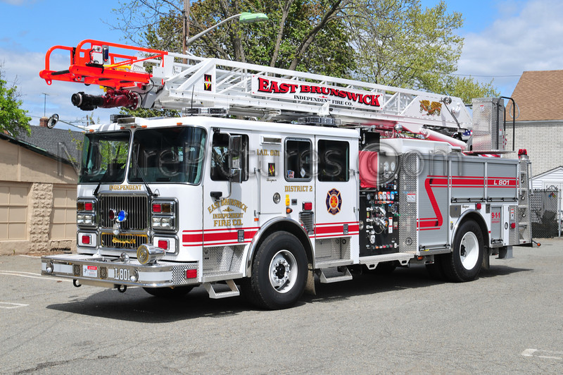 EAST BRUNSWICK, NJ LADDER 801