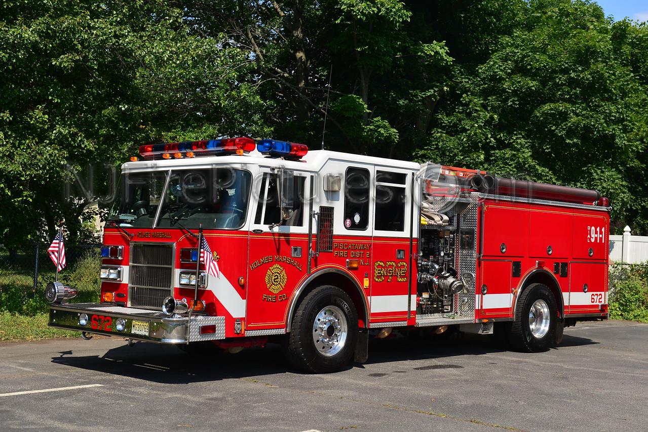 PISCATAWAY, NJ ENGINE 672 HOLMES MARHSALL FIRE CO.