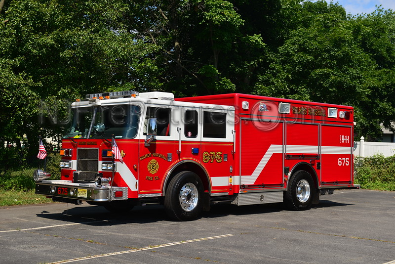 PISCATAWAY, NJ RESCUE 675 HOLMES MARSHALL FIRE CO.