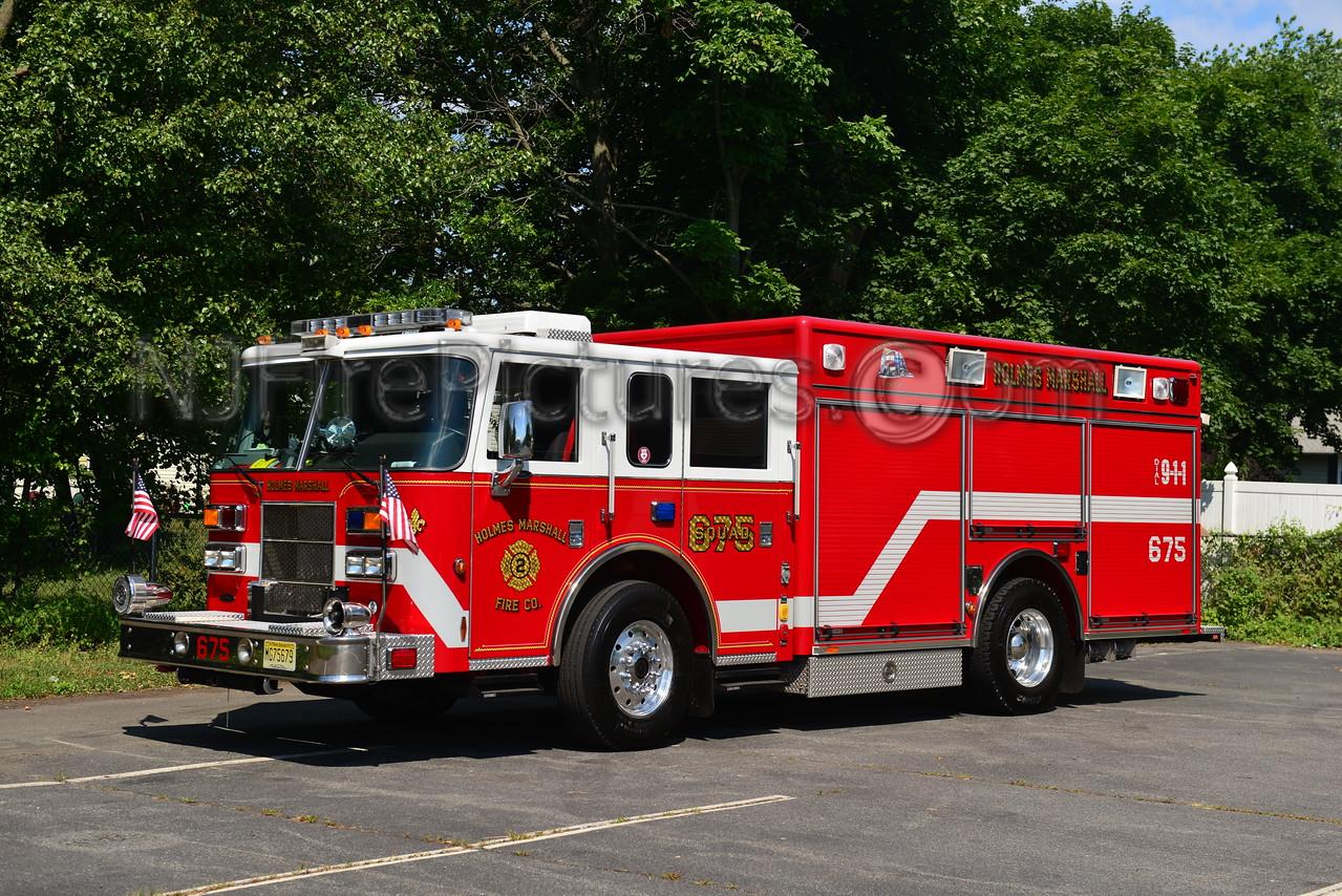 PISCATAWAY, NJ RESCUE 675 HOLMES MARSHALL FIRE CO.