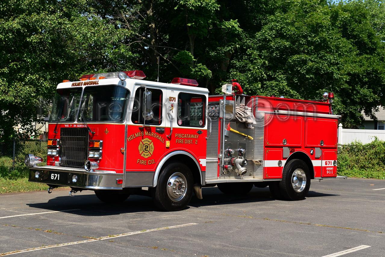 PISCATAWAY, NJ ENGINE 671 HOLMES MARHSALL FIRE CO.